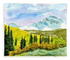 Willard Peak Fleece Blanket