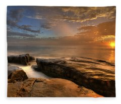 Windnsea Gold Fleece Blanket