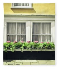 Window Garden Fleece Blanket