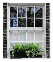 Window In London Fleece Blanket