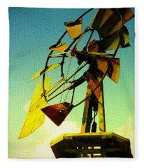 Winds Of Change Fleece Blanket