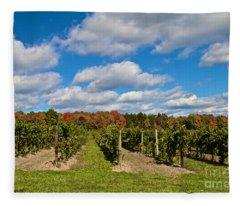Wine In Waiting Fleece Blanket