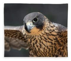 Winged Portrait Fleece Blanket