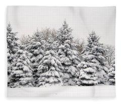 Winter Copse Fleece Blanket
