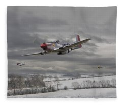 Winter Freedom Fleece Blanket