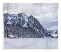 Winter Getaway Fleece Blanket