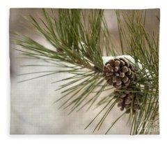 Winter Interlude Fleece Blanket