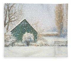 Winter Magic Fleece Blanket