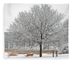 Winter Park Fleece Blanket