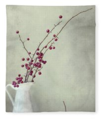 Winter Still Life Fleece Blanket