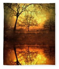 Winter Warmth Fleece Blanket