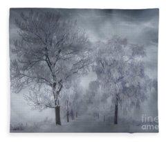 Winter's Magic Fleece Blanket