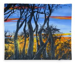Wisconsin Creek Spooks Fleece Blanket