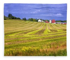 Wisconsin Dawn Fleece Blanket