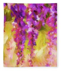 Wisteria Dreams Fleece Blanket