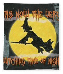 Witching Time Fleece Blanket