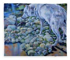 Wolf Creek Fleece Blanket
