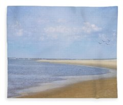 Wonderful World Fleece Blanket