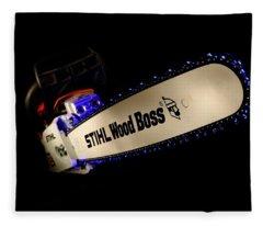 Wood Boss Fleece Blanket