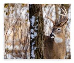 Woodland Outlaw Fleece Blanket