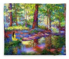 Woodland Fleece Blankets