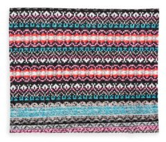 Wool Fabric Fleece Blanket