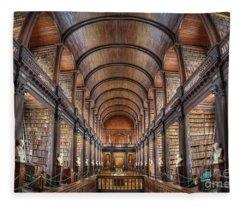 World Of Books Fleece Blanket