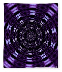 Wormhole Fleece Blanket