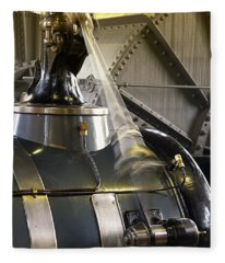 Woudagemaal Steam Engine. Fleece Blanket