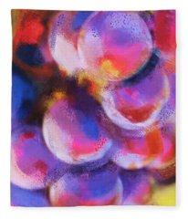 Wrath Of Grapes Fleece Blanket