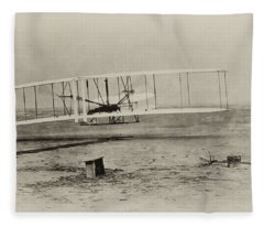 Wright Brothers - First In Flight Fleece Blanket