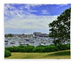Wychmere Harbor Fleece Blanket