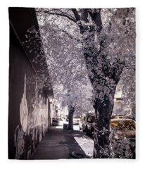 Wynwood Treet Shadow Fleece Blanket