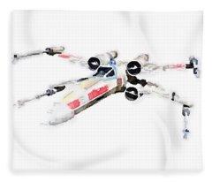 X-wing Fleece Blanket