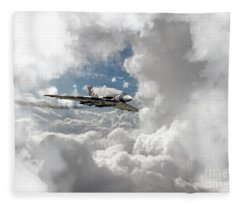 Xh558 At Altitude Fleece Blanket