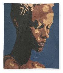 Yasmin Warsame Fleece Blanket
