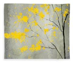 Fall Foliage Fleece Blankets