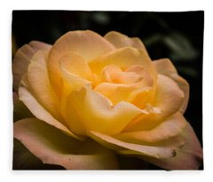 Yellow Ray Of Sunshine Fleece Blanket