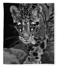 Yim - The Clouded Leopard Fleece Blanket