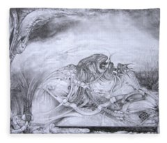 Ymir At Rest Fleece Blanket
