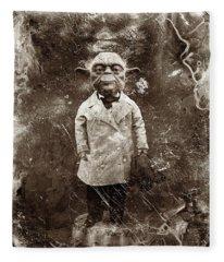 Yoda Star Wars Antique Photo Fleece Blanket