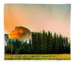 Us National Parks Fleece Blankets