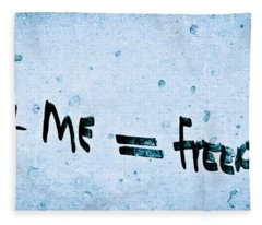You And Me Freedom Fleece Blanket