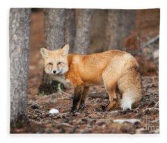 You Caught Me Fleece Blanket