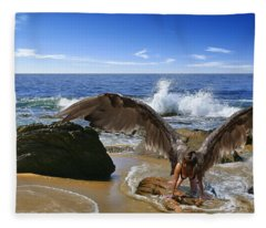 You Cried Out And I Came Fleece Blanket
