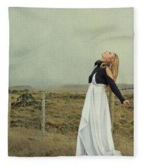 You Raise Me Up Fleece Blanket