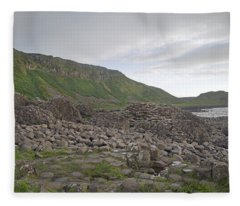 You Rock -- Giant's Causeway -- Ireland Fleece Blanket