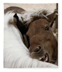 You Scratch Mine Fleece Blanket