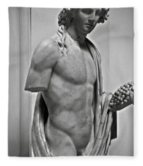 Youthful Dionysus Fleece Blanket