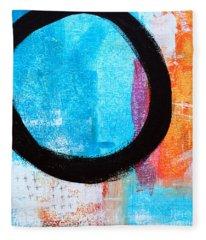 Zen Abstract #32 Fleece Blanket